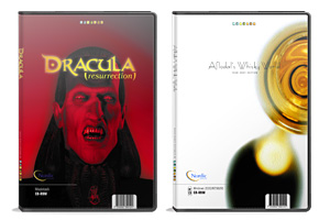 design, layout and production of DVD-packaging